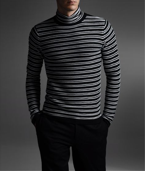 Wholesale cheap lovers pullover gender -black and white stripe turtleneck extended long sleeve men sweaters / oversized terry cotton knitted men pullover sweatshirts size m-xl from Chinese men's hoodies & sweatshirts supplier - daisy on salestopp1se.gq