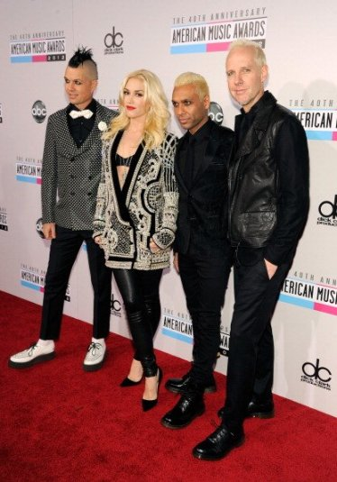 Gwen Stefani in Balmain with No Doubt