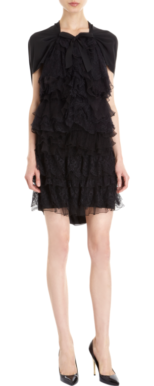 Nina Ricci - Tiered Lace Dress $4790