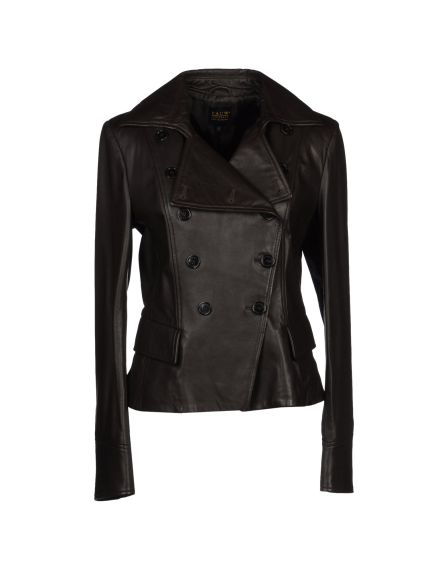 Pauw - Leather Double Breasted Blazer $1848