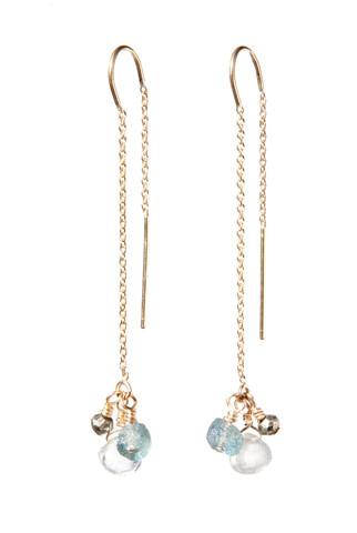 Allison Neumann - Cascade Threader Earrings $250