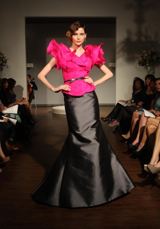 Kevan Hall - Spring/Summer 2013, photo courtesy of Faye Sadou
