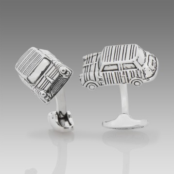 Paul Smith - Silver-plated 3D Mini Cufflinks $160