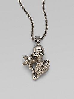 Alexander McQueen - Skull Necklace $390