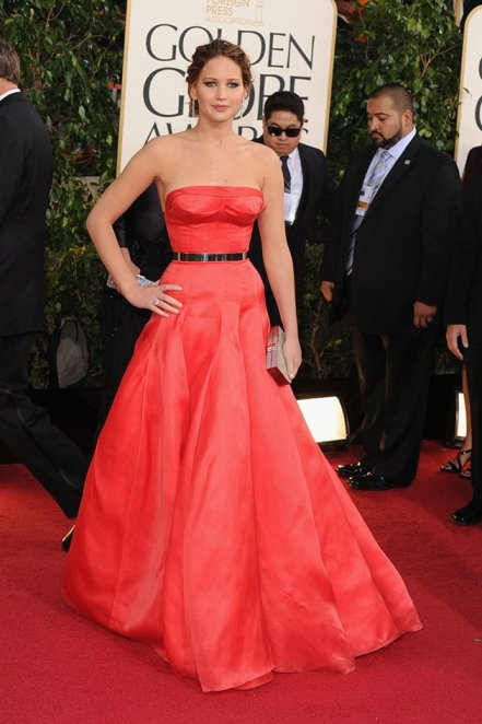 Jennifer Lawrence in Dior Haute Coutre