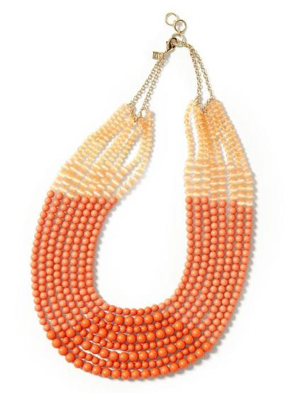 Banana Republic - Coral Cabana Necklace $69.50