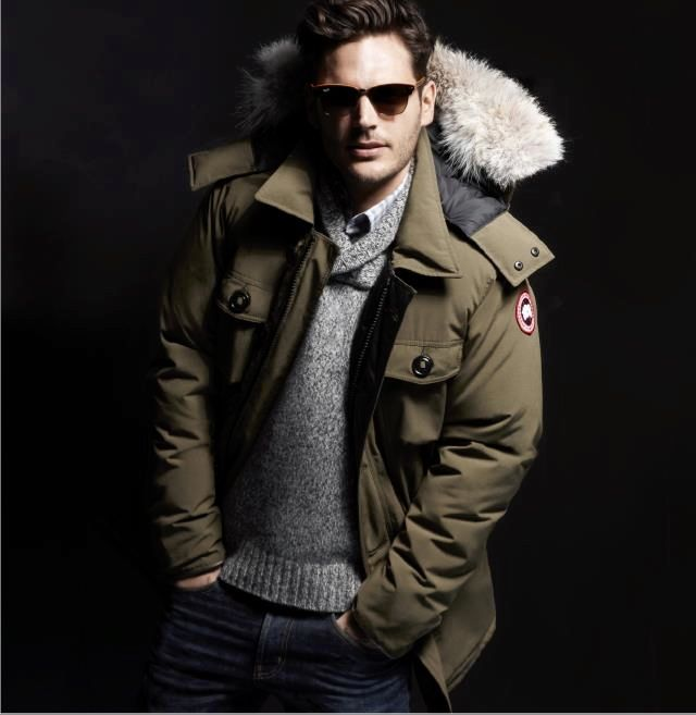 Look Of The Day Keeping It Warm With Canadian Goose