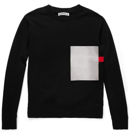 Mr. Matthew Millier - Foil-PocketCotton-JerseySweatshirt $245