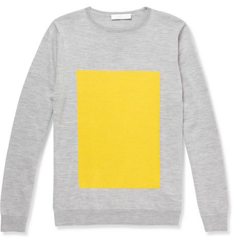 Mr. Richard Nicoll - Merino Wool Crew Neck Sweater $455