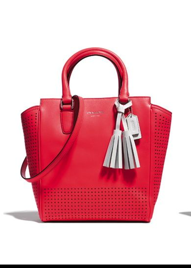 Coach - Legacy Perforated Mini Tanner Tote $268