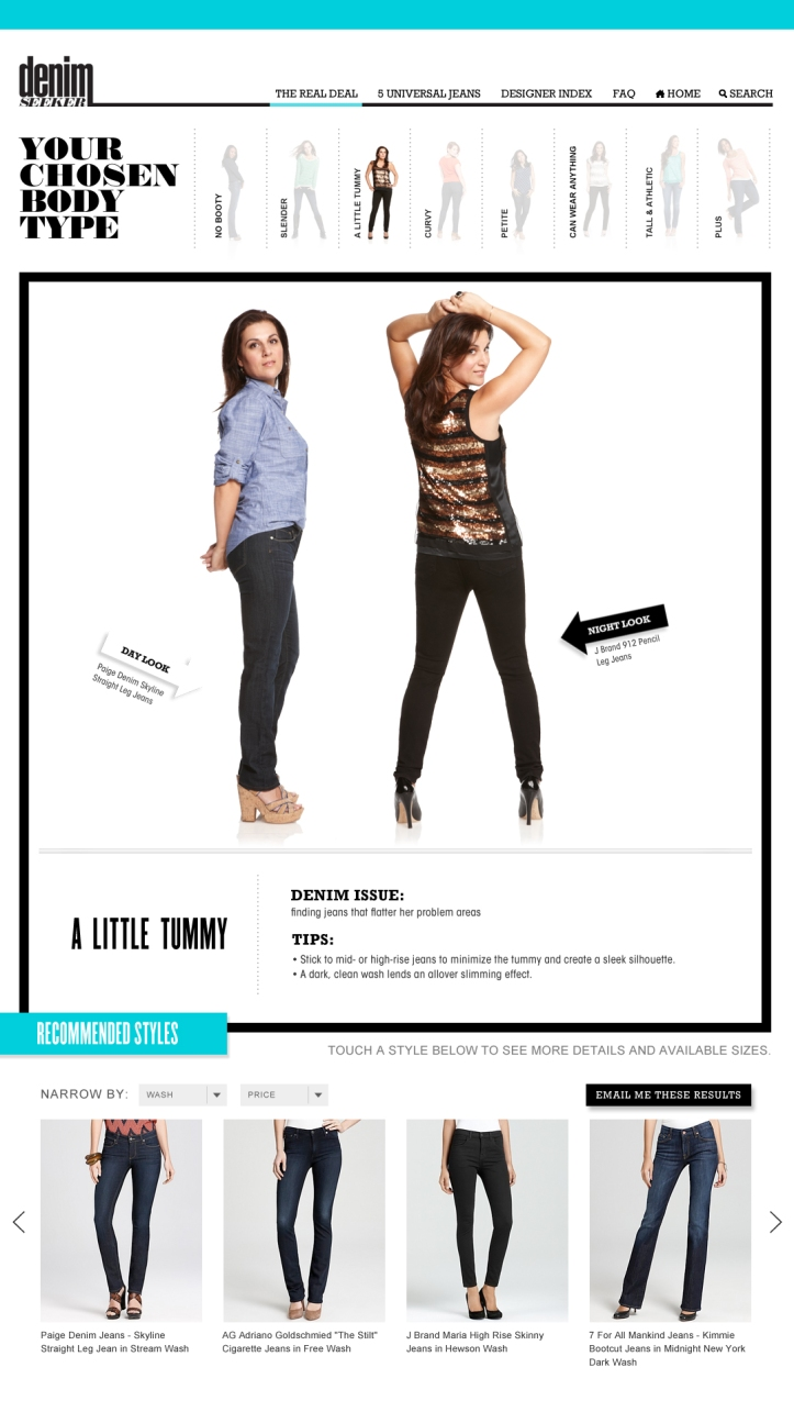 Bloomingdale's: Denim Seeker - Tummy Fit