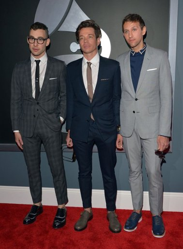 Fun's Jack Antonoff, Nate Ruess and Andrew Dost