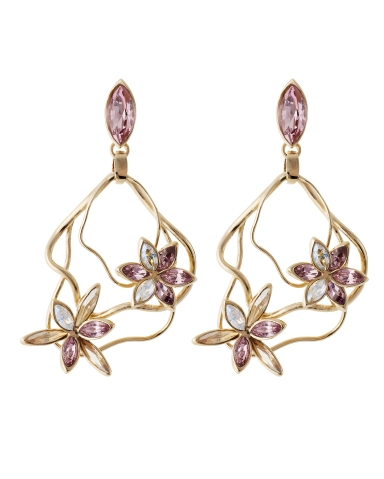 Atelier Swarovski by Stefano Poletti - Polygonum Earrings Light Amethyst