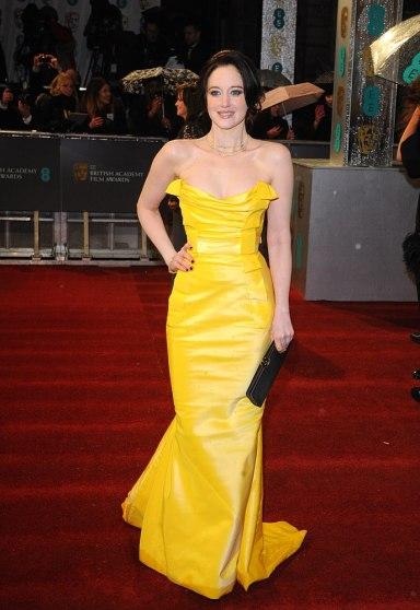 Andrea Riseborough in Vivienne Westwood