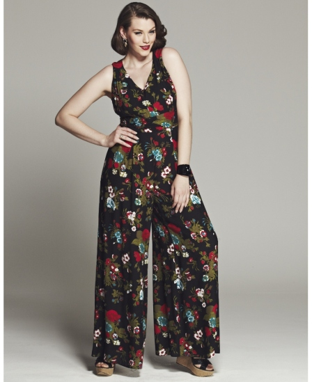 Bespoke Jane Floral Print Jumpsuit $99.00