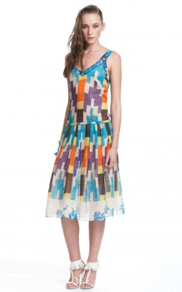 Tracy Reese - Dropped Waist Frock Dress $428