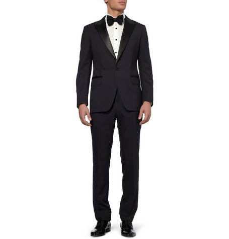 Lanvin - Satin-trimmed Wool Tux $2295