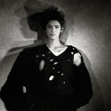 Rei Kawakubo for Comme des Garçons,1982 Photograph by Peter Lindbergh
