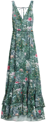 H&M Conscious Collection - Floral Print Maxi Dress