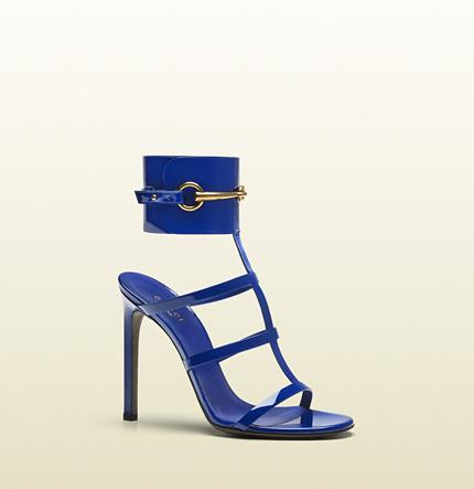 Gucci - Ursula Ankle-strap High Heel Sandal $850