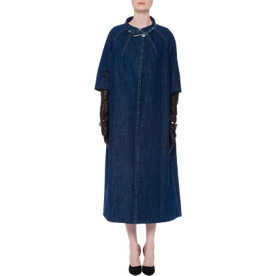 Miu Miu - Stoned-washed Denim Coat $1975