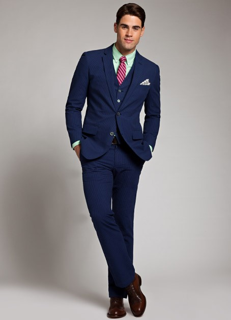 Look Of The Day Summer Suit From Bonobos THPFashion Blog