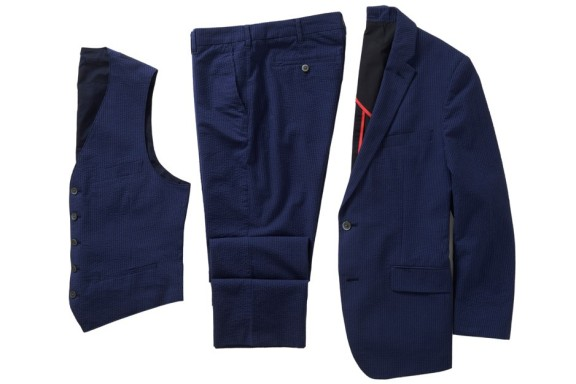 Bonobos - Beauregard Navy Suit Jacket $298, Vest $148, Pant $118