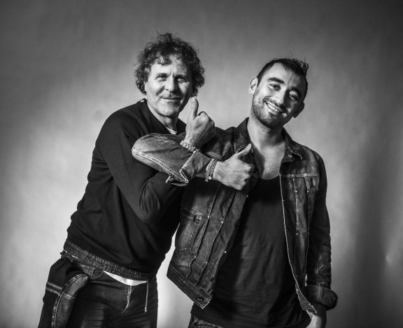 Diesel Founder Renzo Rosso and Nicola Formichetti