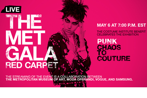 The Met Gala - Punk Chaos To Couture