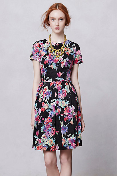 Komodo - Museum Garden Dress $198 at Anthropologie