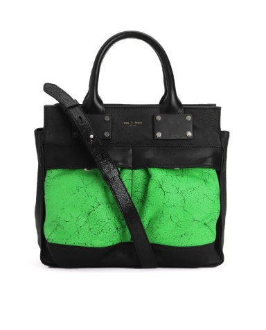 Rag & Bone Small Pilot-Green Satchel $ 755