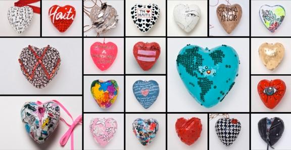 Urban Zen Foundation eBay CFDA - One Million Hearts