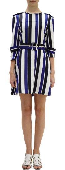Marni - Striped Trench Dress $1335