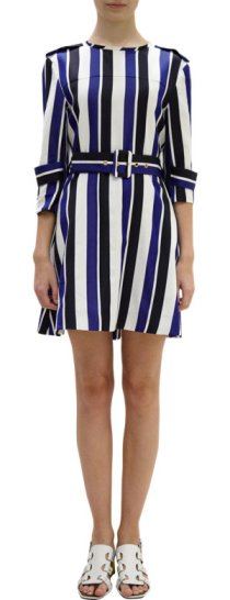 Marni - Striped Trench Dress $1335