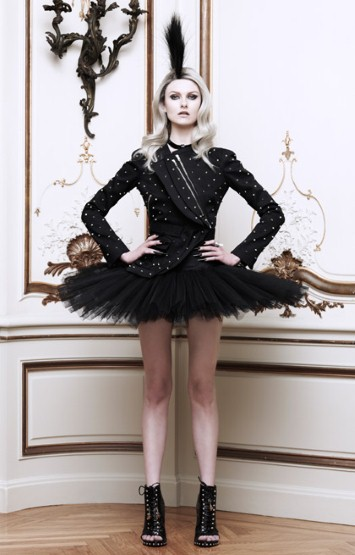 Moda Operandi - Givenchy Embellished Cotton Jacket With Back Pleats $6,200