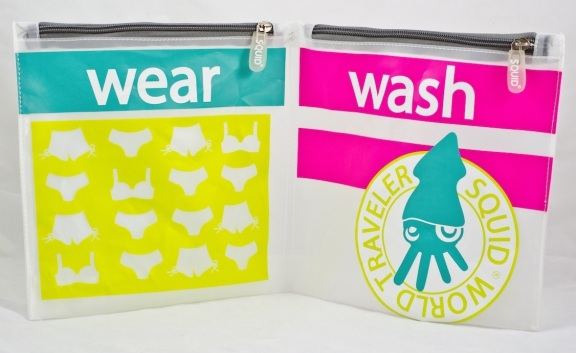 SQUID - Wash & Wear Travel Bags $15.99