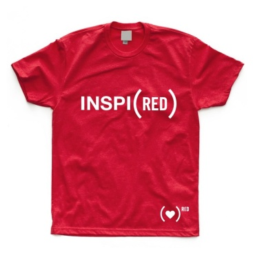 Fab.com - Inspi(RED) Tee Red $25.00
