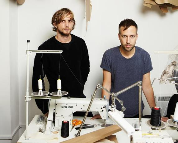 (R) Peter Pilotto and (L) Christopher De Vos