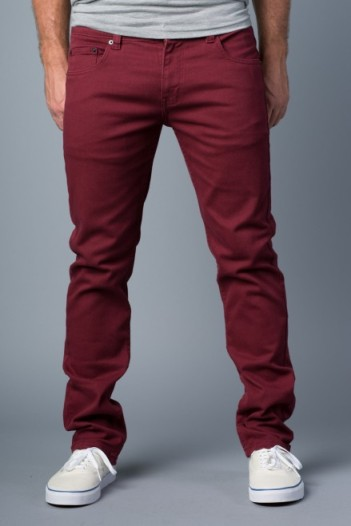20Jeans - Polychrom Skinny Jeans in Full Maroon $30