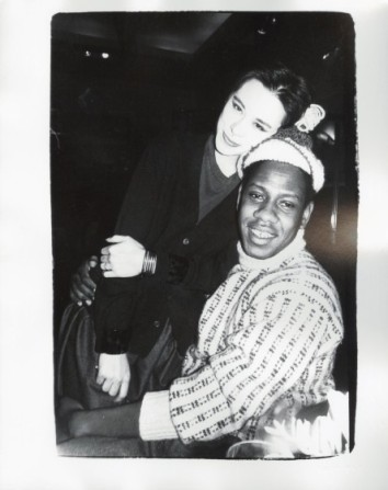Tina Chow and André Leon Talley (1980) Gelatin Silver Print 8x10 Est $3000-5000
