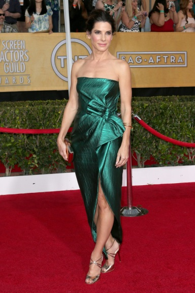 Sandra Bullock in Lanvin