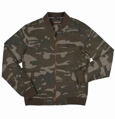 Members Only - Camo Baseball Jacket