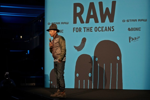 PHARRELL WILLIAMS - CURATES COLLABORATION BETWEEN BIONIC YARN AND G-STAR