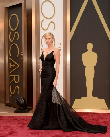 Charlize Theron. in Dior Haute Couture