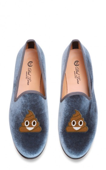 Edie Parker X Del Toro - #TheShit Loafers $340