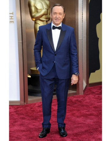 Kevin Spacey in Burberry
