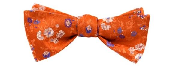 Tie The Knot - Orange Flowers $25.00