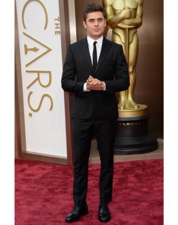 Zac Efron in Calvin Klein Collection