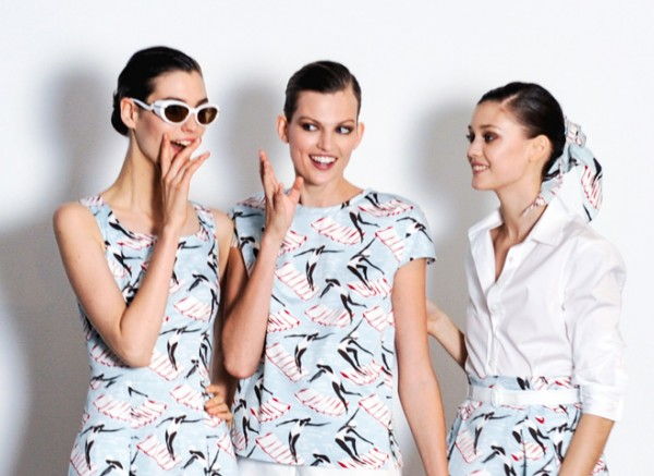 Carolina Herrera - Archive II Collection - Swimming Ladies