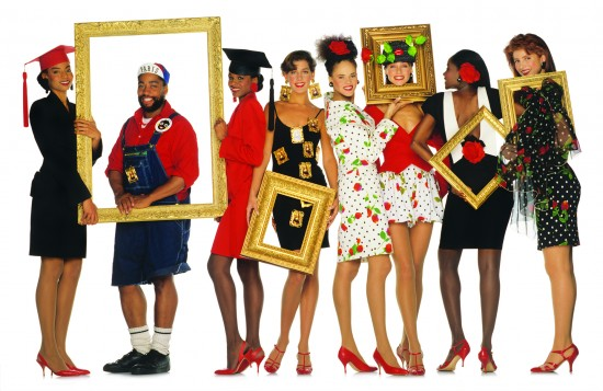 Spring/Summer 1989 Collection. Photograph by Oliviero Toscani.